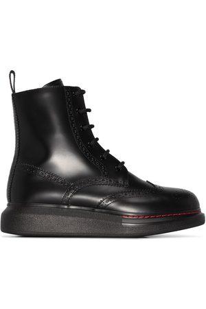 Alexander McQueen Dames Veterlaarzen - Lace-up ankle boots