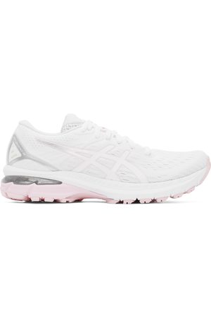 Asics White & Pink GT-2000 9 Sneakers