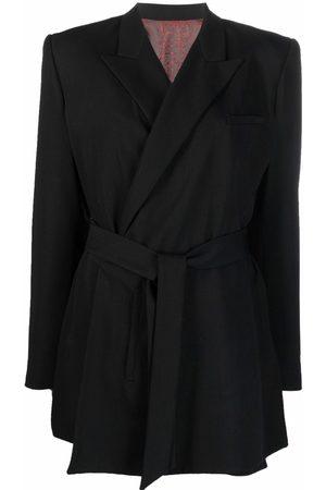 Jean Paul Gaultier Dames Blazers - 1990s belted double-breasted blazer
