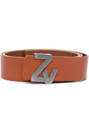 Zadig & Voltaire Heren Riemen - Logo-buckle belt