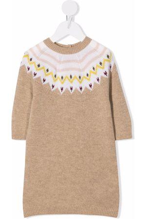 Moncler Patterned-knit dress