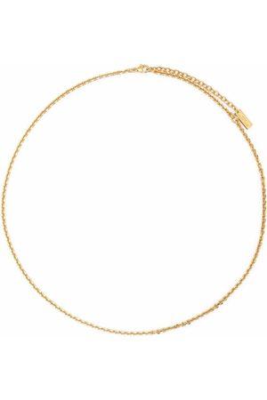 Saint Laurent Heren Kettingen - Cable-chain necklace