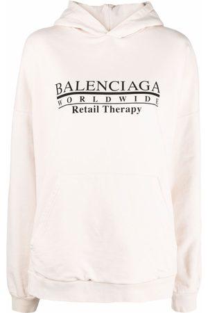 Balenciaga Retail Therapy logo hoodie