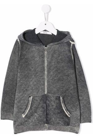 BONPOINT Jongens Hoodies - Washed-effect zipped hoodie