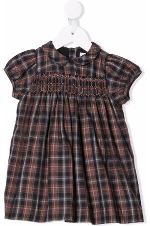 BONPOINT Plaid check print dress