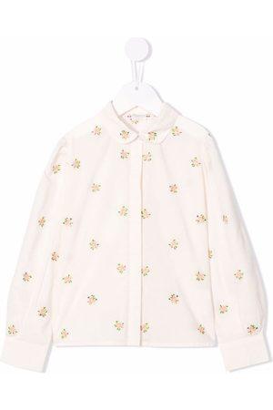 BONPOINT Meisjes T-shirts - Floral print shirt