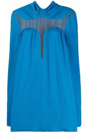 Stella McCartney Transparent-panel short dress