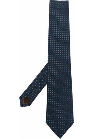Church's Heren Vlinderdassen - Embroidered silk tie