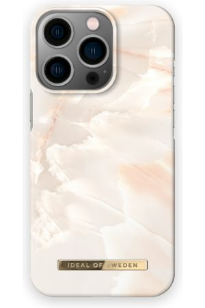 IDEAL OF SWEDEN Telefoon hoesjes - Fashion Case iPhone 13 Pro Rose Pearl Marble