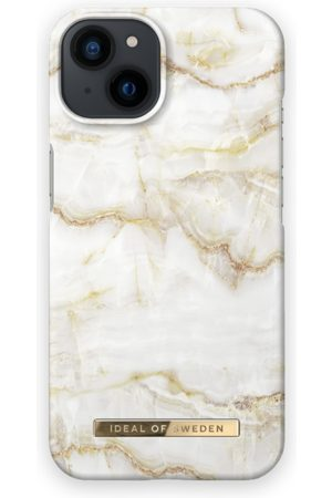 IDEAL OF SWEDEN Telefoon hoesjes - Fashion Case iPhone 13 Golden Pearl Marble