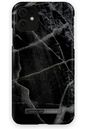 IDEAL OF SWEDEN Telefoon hoesjes - Fashion Case iPhone 11 Black Thunder Marble