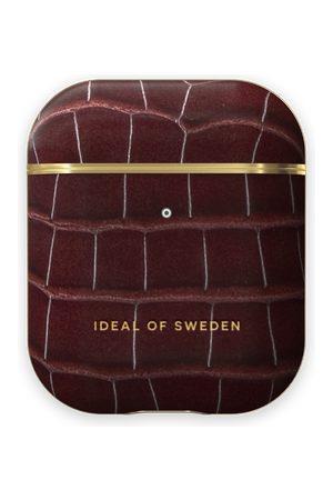 IDEAL OF SWEDEN Telefoon hoesjes - Atelier AirPods Case Scarlet Croco