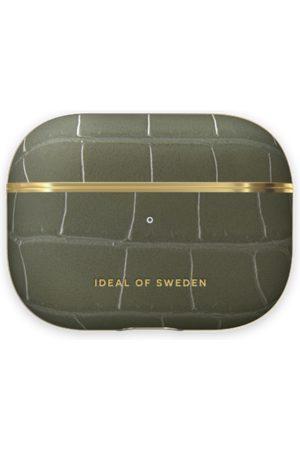 IDEAL OF SWEDEN Telefoon hoesjes - Atelier AirPods Case Pro Khaki Croco
