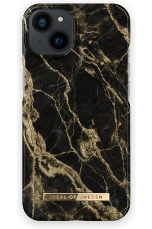 IDEAL OF SWEDEN Fashion Case iPhone 13 Golden Smoke Marble