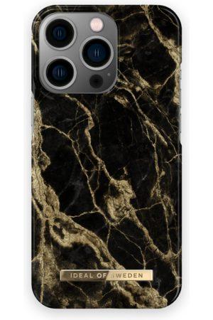 IDEAL OF SWEDEN Telefoon hoesjes - Fashion Case iPhone 13 Pro Golden Smoke Marble