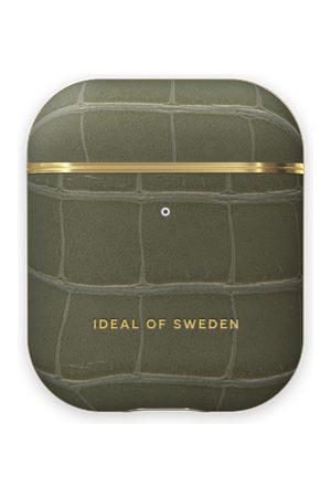 IDEAL OF SWEDEN Telefoon hoesjes - Atelier AirPods Case Khaki Croco
