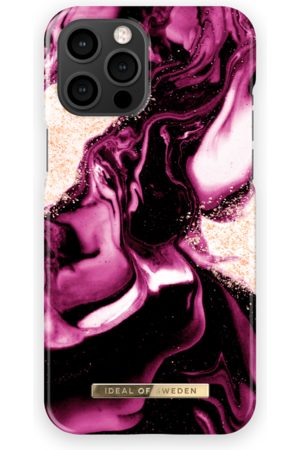 IDEAL OF SWEDEN Telefoon hoesjes - Fashion Case iPhone 13 Pro Max Golden Ruby Marble