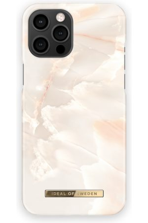 IDEAL OF SWEDEN Telefoon hoesjes - Fashion Case iPhone 13 Pro Max Rose Pearl Marble