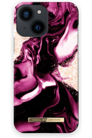 IDEAL OF SWEDEN Telefoon hoesjes - Fashion Case iPhone 13 Mini Golden Ruby