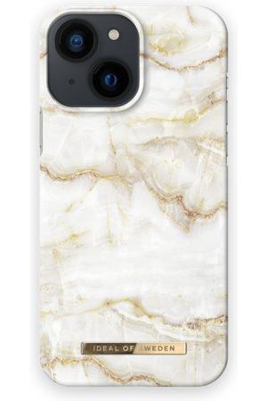 IDEAL OF SWEDEN Telefoon hoesjes - Fashion Case iPhone 13 Mini Golden Pearl Marble