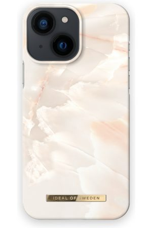 IDEAL OF SWEDEN Telefoon hoesjes - Fashion Case iPhone 13 Mini Rose Pearl Marble
