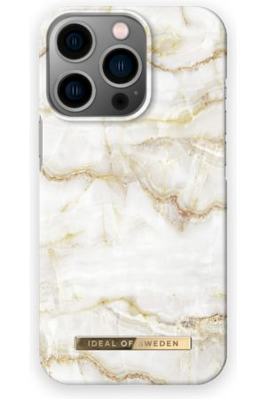 IDEAL OF SWEDEN Telefoon hoesjes - Fashion Case iPhone 13 Pro Golden Pearl Marble