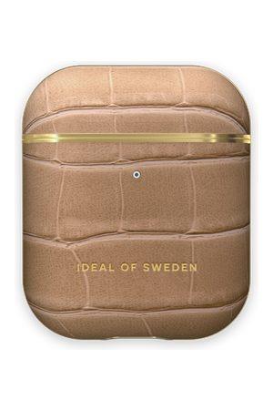IDEAL OF SWEDEN Telefoon hoesjes - Atelier AirPods Case Camel Croco