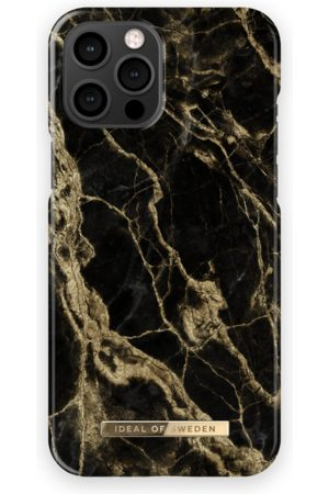 IDEAL OF SWEDEN Telefoon hoesjes - Fashion Case iPhone 13 Pro Max Golden Smoke Marble