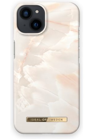 IDEAL OF SWEDEN Telefoon hoesjes - Fashion Case iPhone 13 Rose Pearl Marble