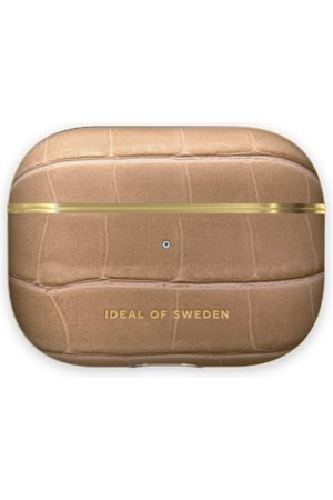 IDEAL OF SWEDEN Telefoon hoesjes - Atelier AirPods Case Pro Camel Croco
