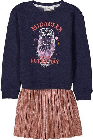 Garcia Meisjes Casual jurken - Sweaterjurk met print i14482 2878 bluebell