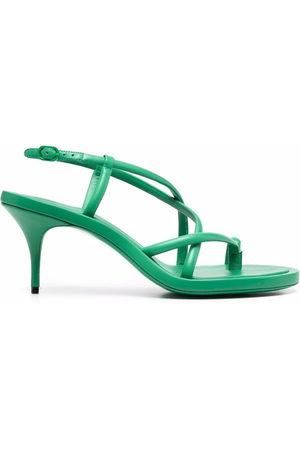 Alexander McQueen Dames Sandalen - Toe-loop strappy sandals