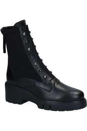 unisa Dames Cowboy Boots - Jarbe Zwarte Boots