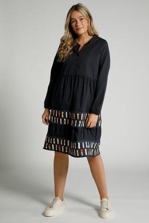 Ulla Popken Dames Lange jurken - Grote Maten Midi-jurk, Dames