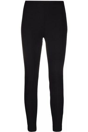 Pinko Slim side-zip fastening trousers