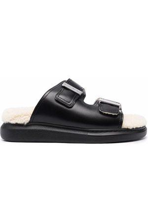Alexander McQueen Shearling lined sandals
