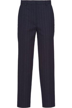 Prada Dames Broeken - Pinstripe-pattern tailored trousers