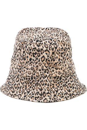 ENGINEERED GARMENTS Heren Buckethat - Leopard print bucket hat