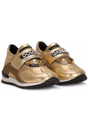 Dolce & Gabbana Meisjes Sneakers - Logo-strap panelled sneakers
