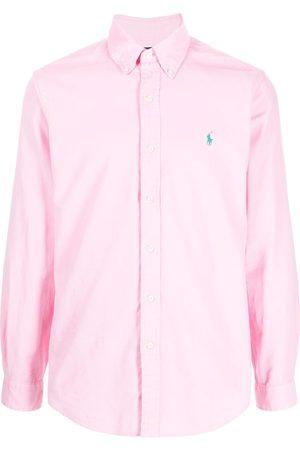 Polo Ralph Lauren Heren T-shirts - Embroidered-logo cotton shirt