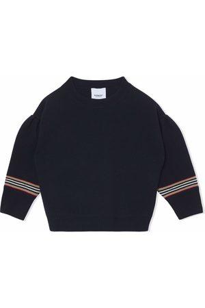 Burberry Meisjes Truien - Icon stripe detail jumper