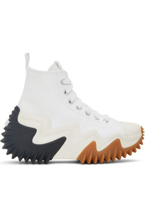 Converse Dames Sneakers - White Run Star Motion High Sneakers