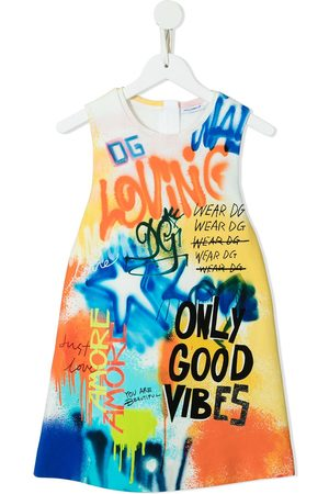 Dolce & Gabbana Only Good Vibes dress