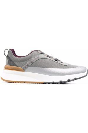 Brunello Cucinelli Heren Lage sneakers - Metallic low-top sneakers