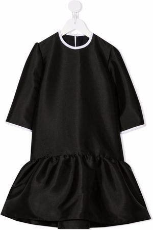 SEÑORITA LEMONIEZ TEEN peplum-hem organic cotton dress