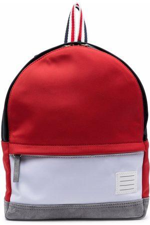 Thom Browne Jongens Rugzakken - Colour-block backpack