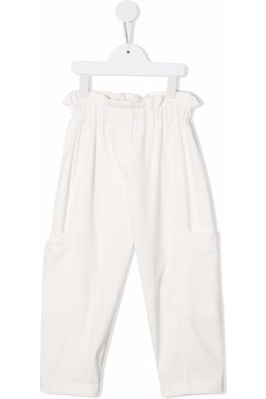 Brunello Cucinelli Meisjes Broeken - Paperbag waist trousers