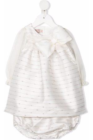 LA STUPENDERIA Meisjes Feestjurken - Abstract-print bow-detail dress