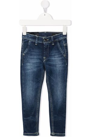 Dondup Faded-effect straight-leg jeans