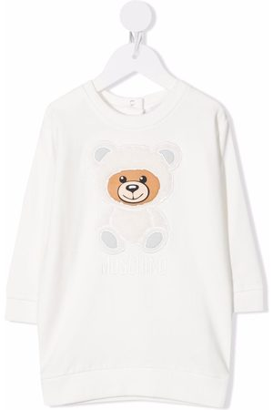 Moschino Sweaters - Teddy bear-print sweatshirt